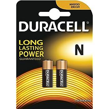 Duracell MN9100, Pilas Alcalinas N, 1.5 V, Pack de 2