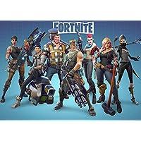 Poster Jeux vidéo Fortnite - Format A3 (42 cm x 29.7 cm) - Personnages