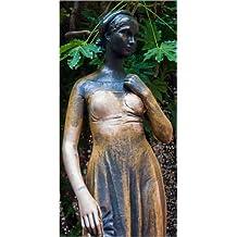 Cuadro sobre lienzo 60 x 120 cm: Statue of juliet, Verona de Colourbox - cuadro terminado, cuadro sobre bastidor, lámina terminada sobre lienzo auténtico, impresión en lienzo