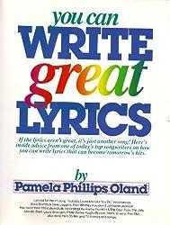 You Can Write Great Lyrics