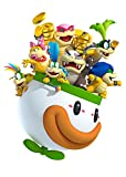 Wandaufkleber, Motiv Nintendo Videospiel Super Mario Brothers koopalings, abziehbar