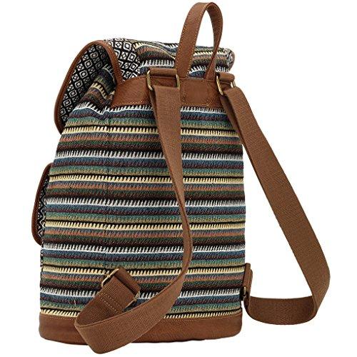 Banadana From American West  Êbackpack Handbags, Sacs portés dos femme Camo Stripes