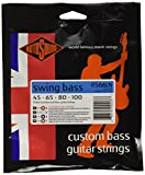 Rotosound Swing Bass Jeu de cordes pour basse Nickel Filet rond Tirant custom (45 65 80 100)