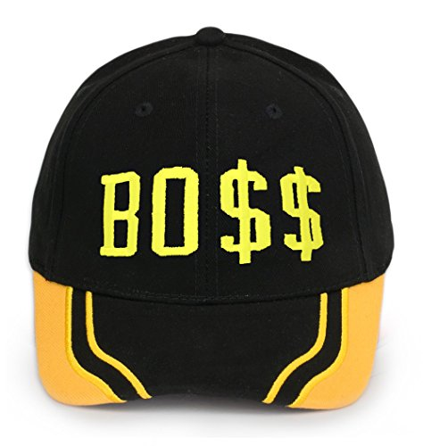 Bonnet Chapeau Casquette Snapback Baseball Hip-Hop Bad Hair Day Cash Meow Snap Back (Boss)