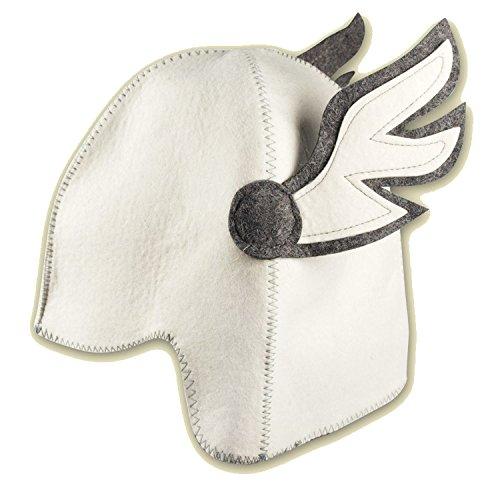 Chapeau de sauna 'Hermes', de feutre (Bonnet de Feutre, bonnet de sauna)