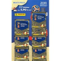 "Panini 005903 Fifa World Cup Russia 2018"" Sammelsticker Multipack, 7 Booster"