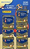 Panini 005903 FIFA World Cup Russia 2018 raccolta Sticker Multi Pack, 7 Booster