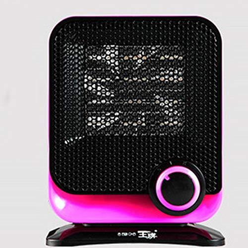 Yao Ventilatore Elettrico 220V Mini PTC Riscaldatore Elettrico Elettrico scaldino Invernale Rosa