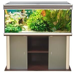 aquatlantis aquarium meuble evasion 150 x 60 wenge animalerie. Black Bedroom Furniture Sets. Home Design Ideas