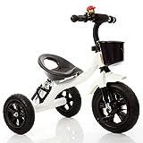 Babywagen Dreirad-Baby-Wagen-Fahrrad-Kind-Spielzeug-Auto Aufblasbares Rad / Schaum-Rad-Fahrrad Verwendbar für 1-2-3-4 Jährige (Junge / Mädchen), Weiß FAHRRAD ( Farbe : B type )