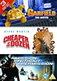 Garfield: The Movie/Cheaper By The Dozen/Mission Without... [DVD] by Breckin Meyer