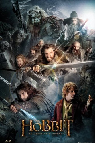 """GB Eye - Poster - The Hobbit """"An Unexpected Journey"""" 61x92cm - 5028486200757"""
