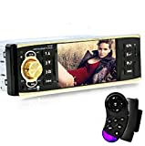 Sannysis 4.1 Bluetooth Auto Audio FM Entrada auxiliar Receptor USB SD MP3 Radio