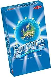Tactic Europe Quiz - Juego de preguntas (contenido en inglés) Importado de Reino Unido