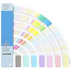 PANTONE Plus GG1504 Pastels and Neons Coated & Uncoated Guide - Multi-Colour