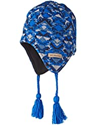 Columbia Youth Winter Worn Peruvian Bonnet Mixte Enfant, Super Blue Geo, FR : (Taille Fabricant : O/S)