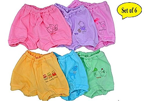 Baby Bucket Soft Cotton Baby Girl's & Boy's Panties (36-48 Months_Etbsg_Multicolor)
