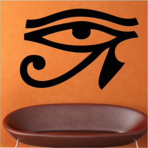 Kreative wand Old Egyptian Legend Horus Eye Wandaufkleber Schwarz PVC Abnehmbare Wohnzimmer Wohnkultur Wandbild