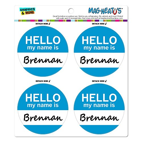 brennan-hello-my-name-is-mag-neato-s-tm-automotive-car-kuhlschrank-locker-vinyl-magnet-set