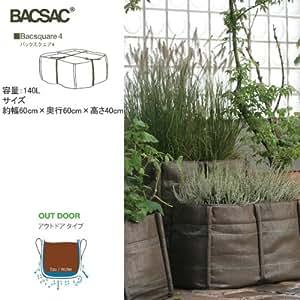 Bacsac - Bacsquare 4 Kitchen Garden Geotextile - 140L