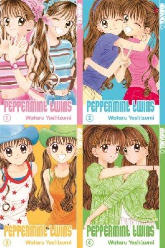 Komplette Twin-set (Peppermint Twins - Manga-Set 1-4 - Komplett)
