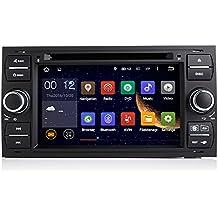 topnavi 7.1Android de 7pulgadas reproductor de DVD del coche para Ford Focus 200520062007GPS navegación with WIFI Bluetooth Radio 16GB RAM DDR32G pantalla táctil capacitiva de radio estéreo Wifi 3G DVR USB MP3