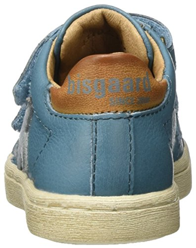 Bisgaard Unisex-Kinder Klettschuhe Low-Top Blau (600-3 Jeans)