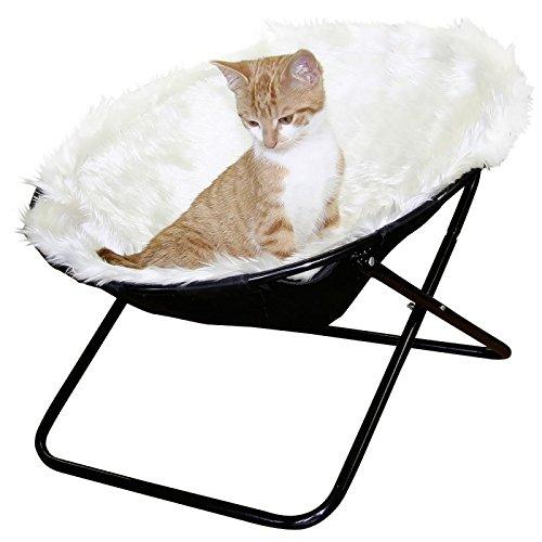 wangado Amaca concava Sharon Particolare amaca per gatti, di forma tonda, concava e con interno in morbidissimo peluche: l'ideale per fare tanti bei sogni d'oro!