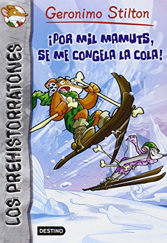Pack Geronimo Stilton - Prehistorratones 3 - Mamuts (+ratosorpresa)