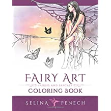 Fairy Art Coloring Book (Fantasy Art Coloring by Selina, Band 1)