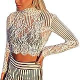MERICAL Mode Frauen Plus Size Dessous Versuchung Club Unterwäsche Nachtwäsche(S,Weiß)
