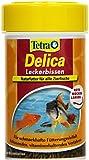 Tetra  735064 TetraDelica Rote Mückenlarven 100 ml - Leckerbissen für trop. Zierfische