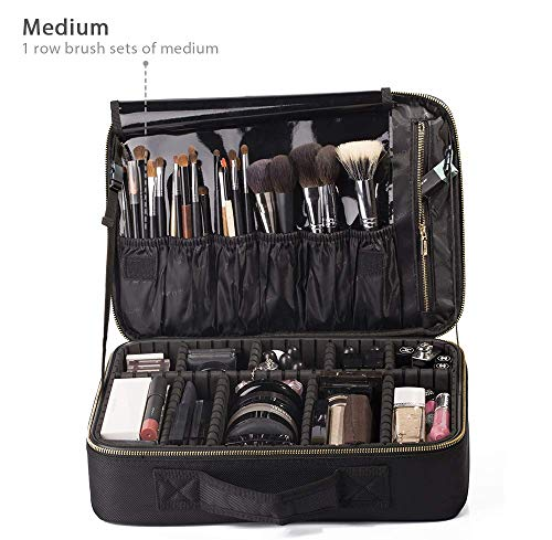 ROWNYEON Makeup Bag Portable Pro...