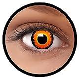 FXEYEZ Farbige Kontaktlinsen organge gelb
