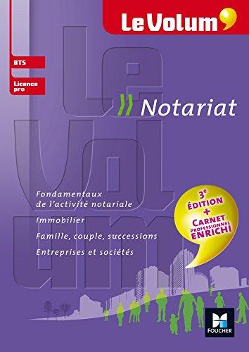 Le Volum' BTS Notariat - Nº9 par Rachel Albrecht