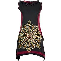 Vestido de Encaje Bordado de mandala
