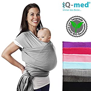 iQ-med-Babytragetuch-Babytrage test