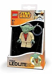 LEGO Star Wars Yoda, mini linterna, 7,6 cm (23070-15)