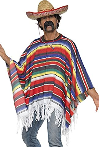 Game Night Costume Ideas - Smiffys Déguisement Homme Mexicain, Western, Serious Fun,