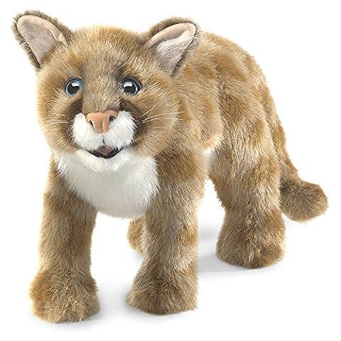 Folkmanis Cub Handpuppe Mountain Lion