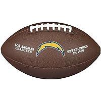 Wilson la CARGADORES NFL Oficial Senior Compuesto Fútbol Americano