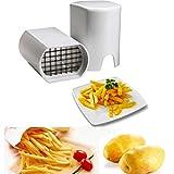 Bluelover Papas fritas Papa cortadores vegetales frutas rebanador picador cocinacortadora herramientas