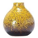 Nette chinesische Vase Dekor Vase Mini Vase kleine Vase f?r Haus / B?ro, Gelb