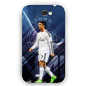 EYP Cristiano Ronaldo Real Madrid Back Cover Case for Samsung Note 2