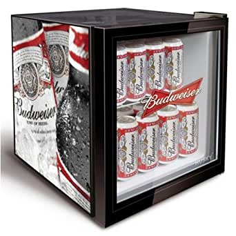 Husky HM134 Mini Fridge/Drinks Cooler - Budweiser