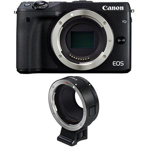 Canon EOS M3 - Systemkamera plus Canon Mount Adapter EF-EOS M