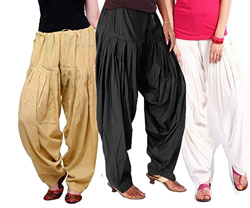 K's Creations Combo of 3 Womens Solid Cotton Mix Best Indian Ethnic...