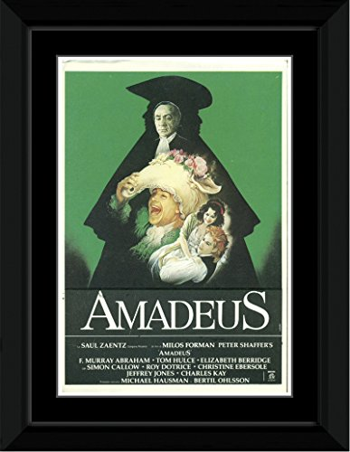 Amadeus - Film Score Framed and Mounted Print - 14.4x9.2cm