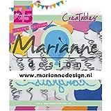 Marianne Design Creatables Matrices de découpe et embossing, Ballon de félicitations, pour projects de loisirs créatifs avec