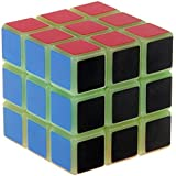 Energlite 3X3X3 Speed Magic Plastic Cube Luminous Educational Puzzle Cube Toy by Energlite